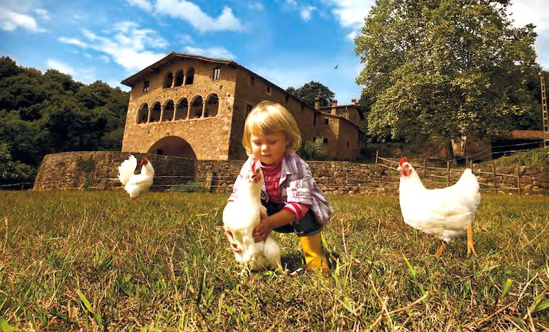 Catalua casas rurales con espigas - Casa rurales en cataluna ...