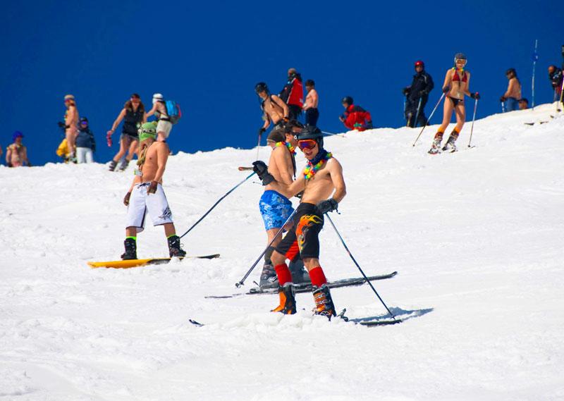 Fiestas de despedida a la nieve en aramon for Jardin de nieve formigal