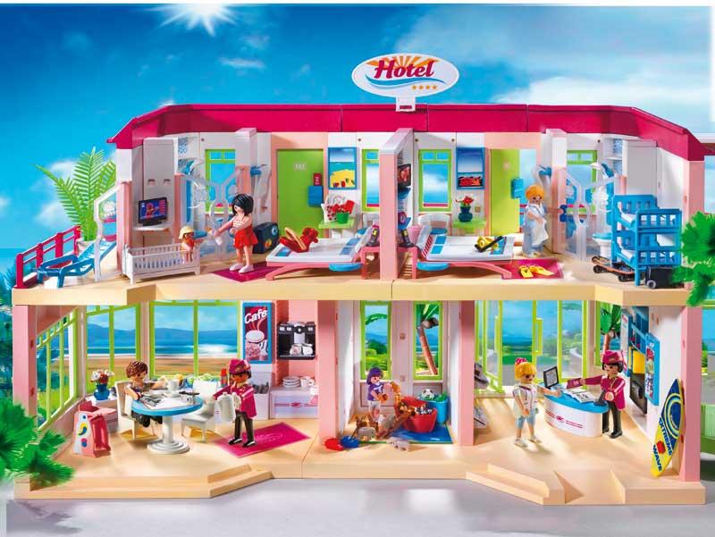 Hoteles los clicks de playmobil se van de vacaciones - Playmobil 3230 casa de vacaciones ...