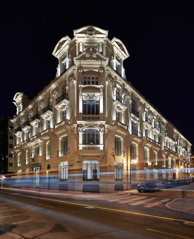 Hoteles urso hotel spa nuevo hotel boutique cinco - Hoteles cinco estrellas en madrid ...