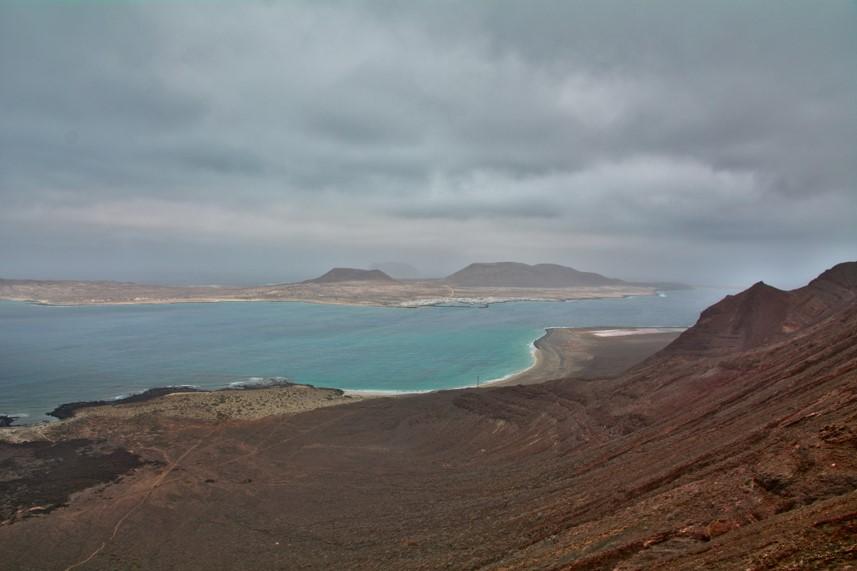 Camino de los Gracioseros de la Isla de la Graciosa en Lanzarote