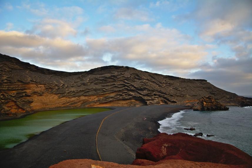 Lago verde como llegar. Los Hervideros de Lanzarote. El golfo Lanzarote