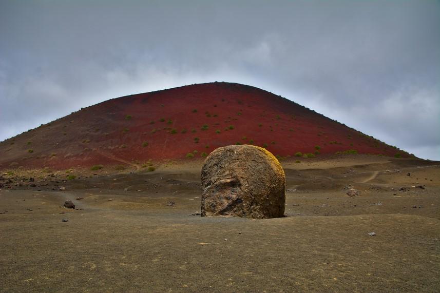 Montañas de fuego de Lanzarote. Parque natural de Timanfaya