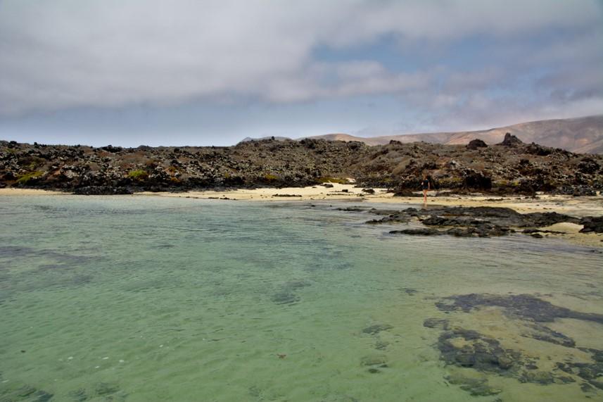 Playa del Caletón Blanco en Lanzarote