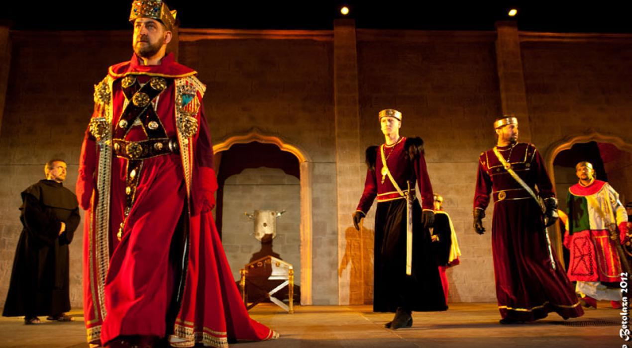 AGENDA. Espectáculo medieval Reino de Nájera (La Rioja) | Revista ...