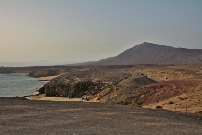 Playa Mujeres en Lanzarote