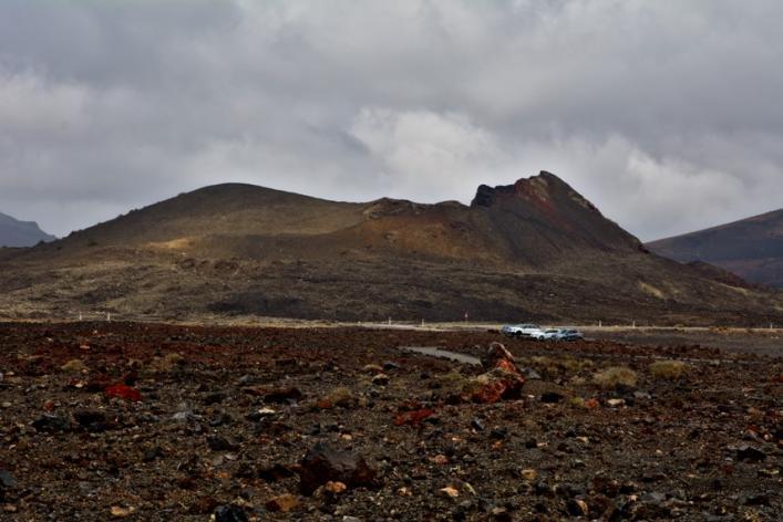 Volcán de Santa Catalina en Lanzarote