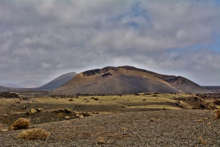 Volcán el Cuervo en Lanzarote